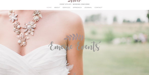 Emerie Theme on Divi Cake