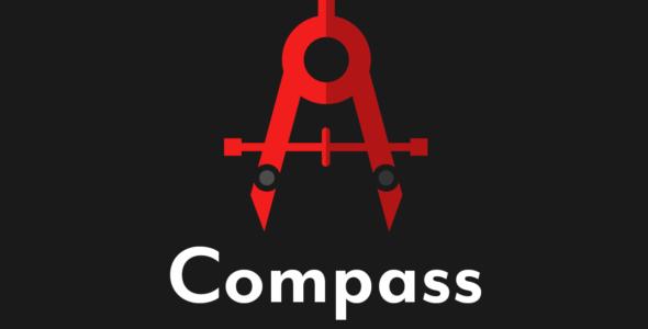 Compass on Divi Cake