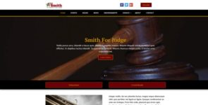 Online Candidate Judicial Theme on Divi Cake