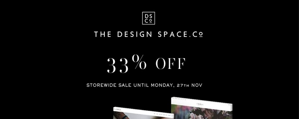The Design Space Black Friday image