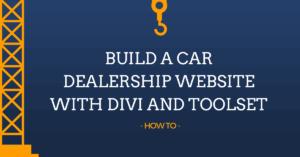 Divi For Car Dealership